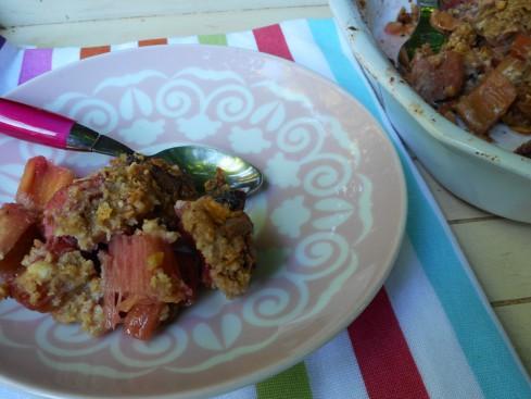 crumble rhubarbe fraise 2