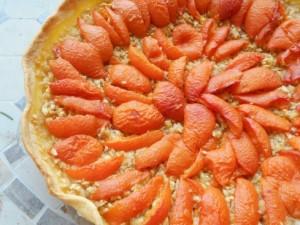 tarte pomme râpée abricots.2