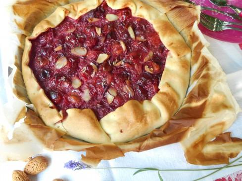 tarte prune rouge