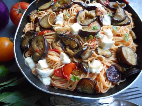 macaronis aux aubergines 2