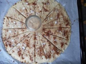 tarte soleil nutella amandes 7