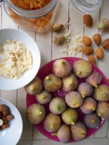 figues rôties mascarpone fruits secs miel. 6