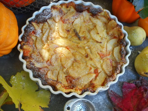 clafoutis courge-poire 3
