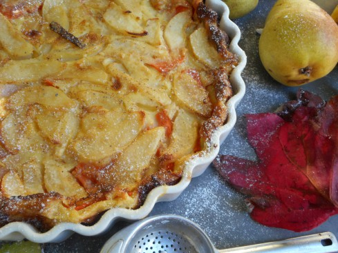 clafoutis courge-poire 4