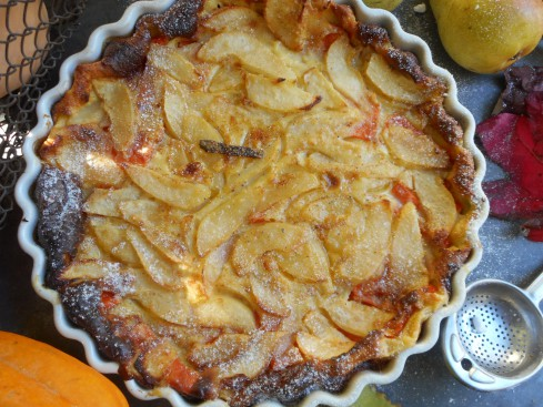 clafoutis courge-poire 6