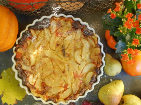 clafoutis courge-poire 7