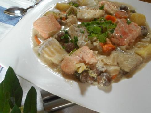blanquette de poissons express. 4