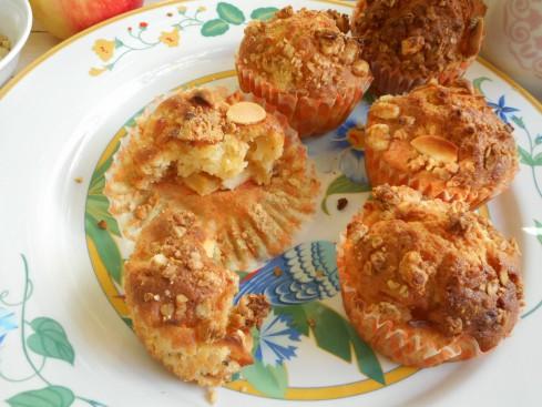 muffins pommes noisettes 3