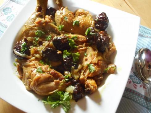 poulet pruneaux 4