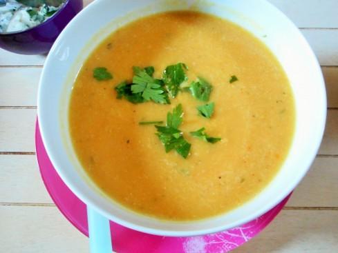 soupe chou-fleu r potiron comme un dhal (2)