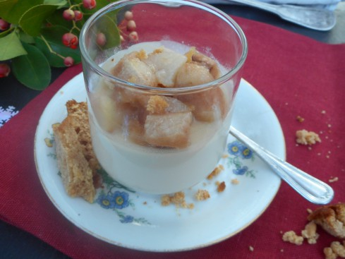 panna cotta foie gras poires 3