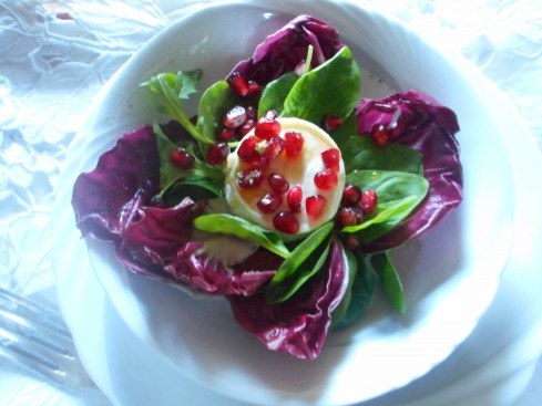 salade chèvre fruit passion 2
