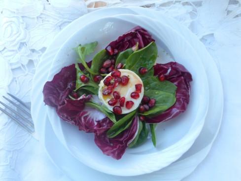 salade chèvre fruit passion 5