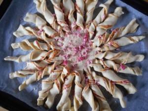 tarte soleil aux pralines roses 4