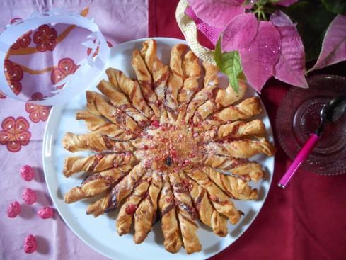 tarte soleil aux pralines roses