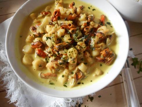 curry fruits de mer 2