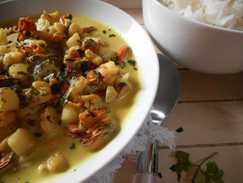 curry fruits de mer 3
