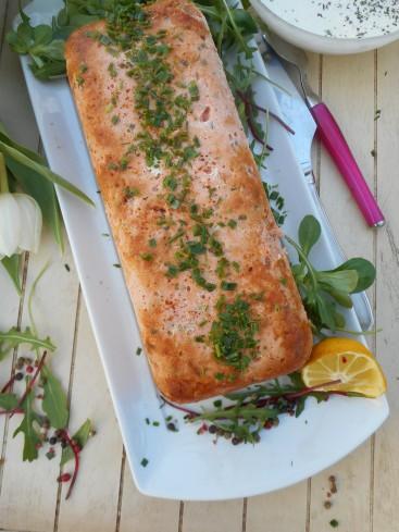 Terrine de truite et de saumon la cuisine de bulle for Repas entre amis rapide et facile