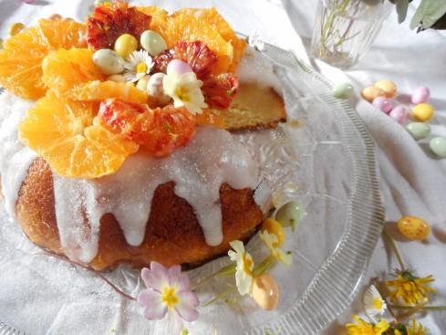 Savarin Nid de Pâques salade d'oranges 3