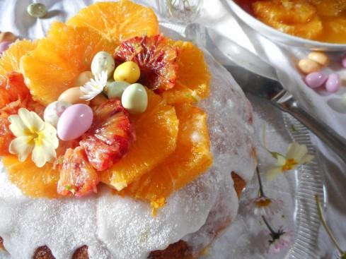 Savarin Nid de Pâques salade d'oranges 4
