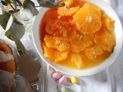 Savarin Nid de Pâques salade d'oranges 6
