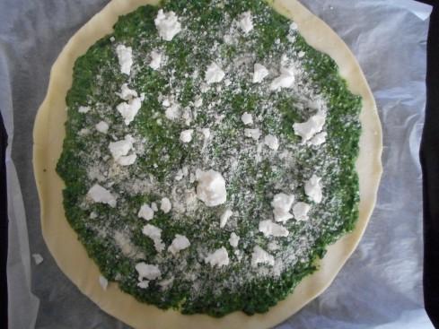tarte soleil épinards chevre parmesan 4