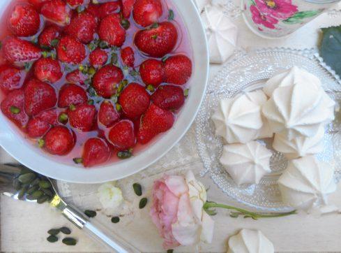 fraises à la rose 4