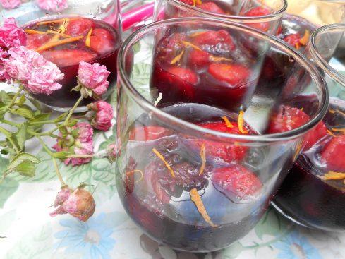 fraises en gelée de sangria 1 (1)