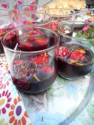 fraises en gelée de sangria 2