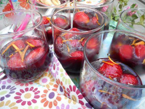 fraises en gelée de sangria 4