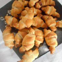 Mini croissant jambon/fromage