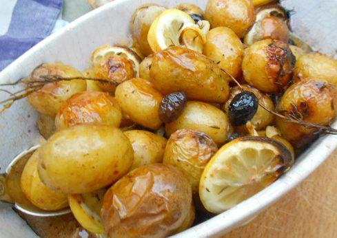 pommes aux olives et au citron 1