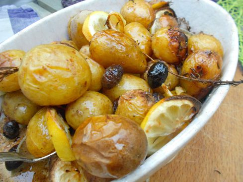 pommes aux olives et au citron 3