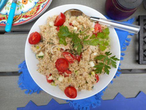 salade de quinoa. 1